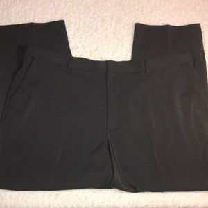 Van Heusen Flex Black Dress Pants 46x29